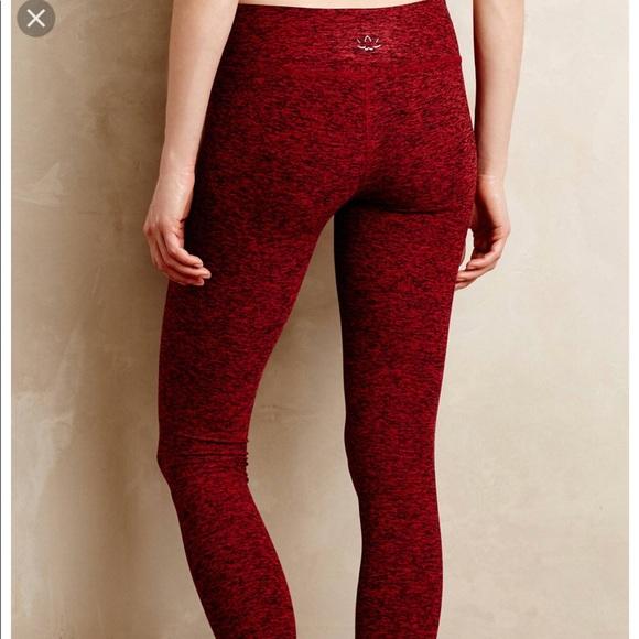 3ec683c156731 Beyond Yoga Pants - Beyond Yoga Garnet Spacedye long legging